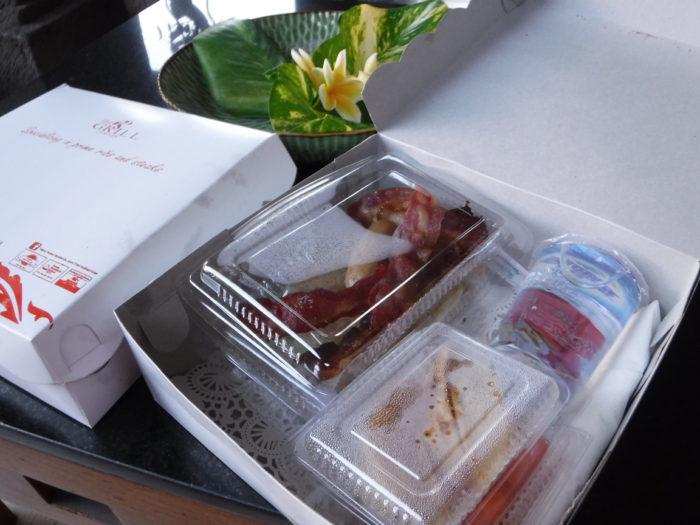 ビラバリホテル朝食