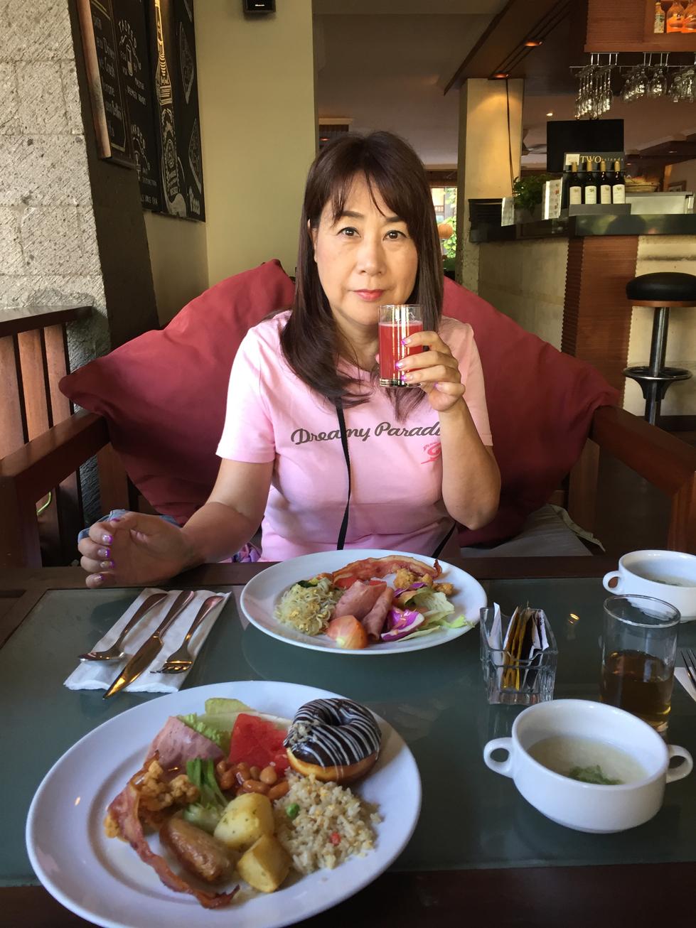 ビラバリホテル朝食2