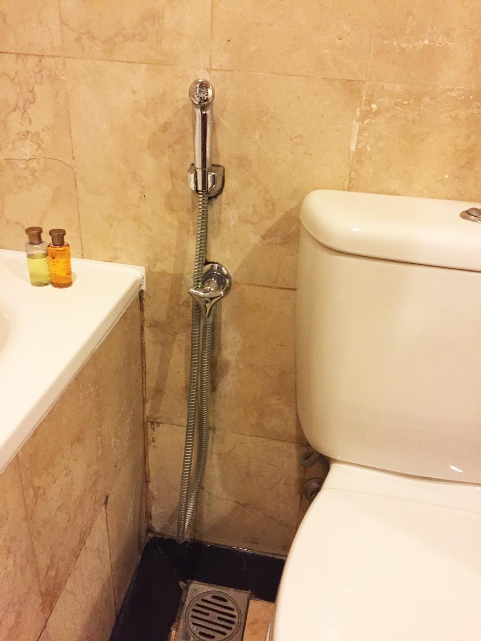 ビラバリホテルトイレ