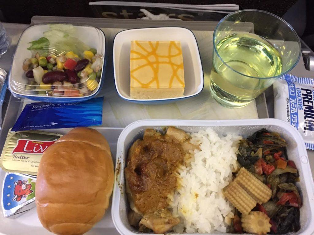 ガルーダインドネシア航空食事