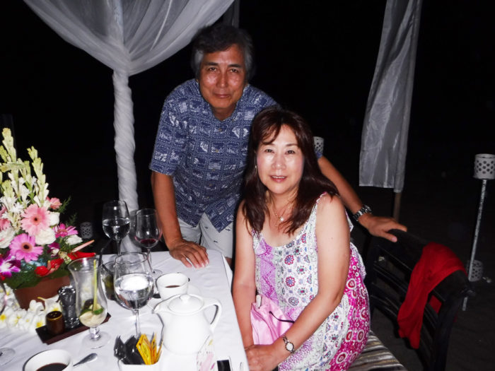 バリ島ロマンチックディナー
