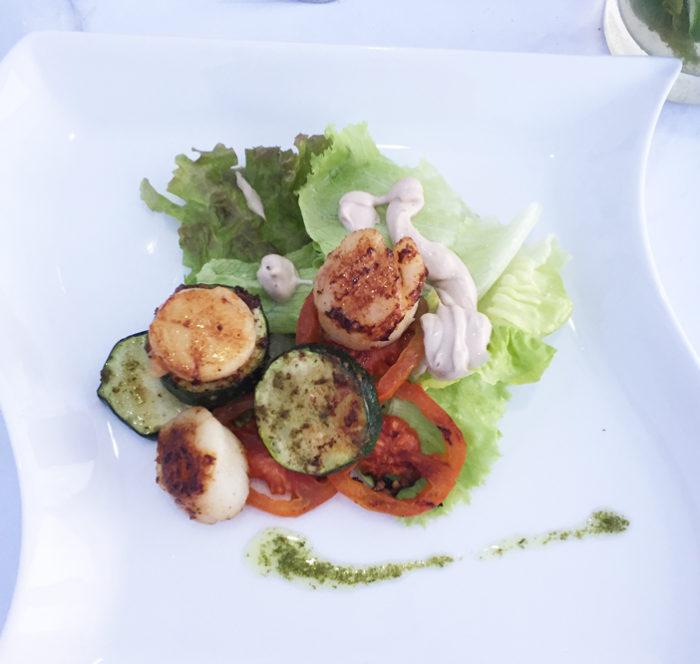 ロマンチックディナー料理2