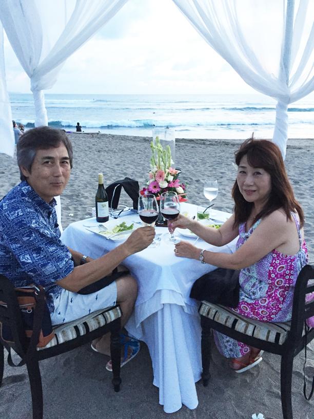 ロマンチックディナー