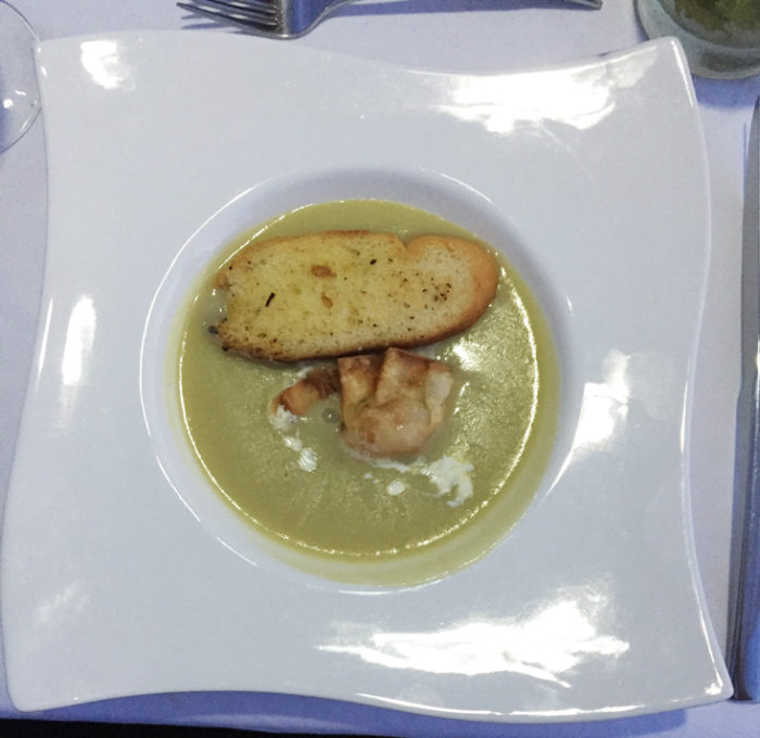 ロマンチックディナー料理3